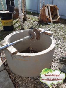 ремонт колодца  в Медынском районе